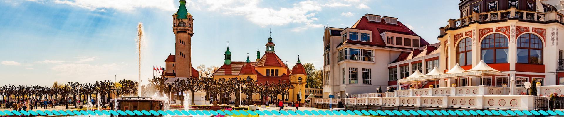 Fontanna w Sopocie